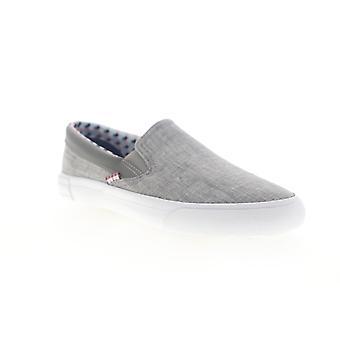 Ben sherman percy slip on miesten harmaa kangas lifestyle lenkkarit kengät