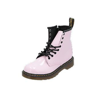 Dr. Martens Delaney Kids Girls Boots Pink Lace-Up Boots Winter