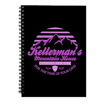 Dirty Dancing Kellermans Mountain House Spiral Notebook