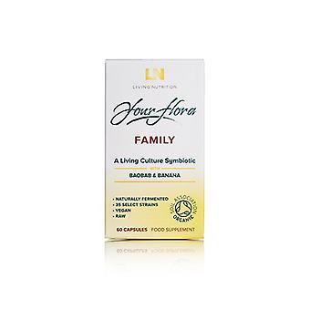 Living Nutrition Family Caps 60 (LN1008)