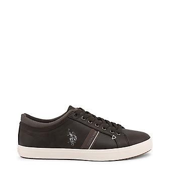Man fabric sneakers shoes ua20695