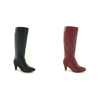 Spot On Womens/Ladies Mid Calf Heeled Boots