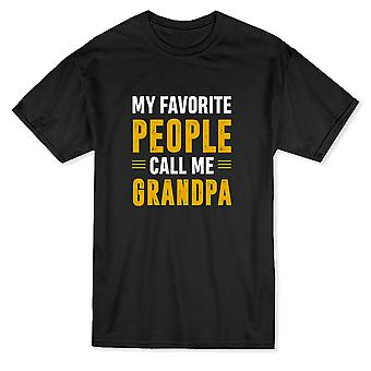 Min favorit folk kallar mig morfar mäns T-shirt