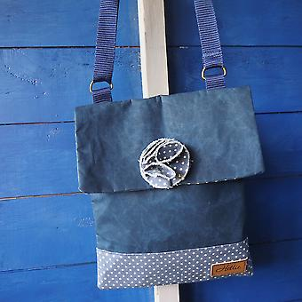 Ella handbag - denim canvas