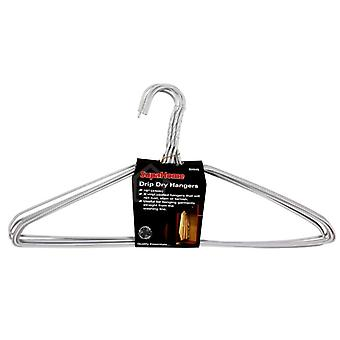 SupaHome Drip Dry Coat Hangers (Pack Of 8)