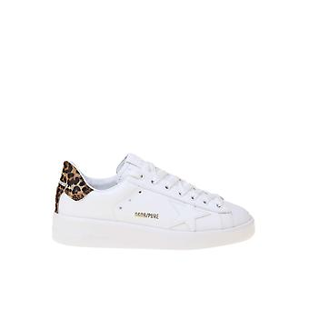 Golden Goose Gwf00124f00031010269 Women's White Leather Sneakers
