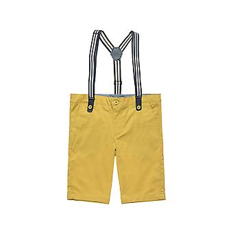 Alouette Boys' Bermuda With Removable Suspenders
