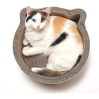 NECOICHI Birch Large cat basket and cardboard crab furniture, extra large
