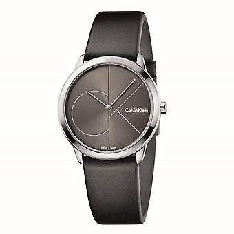 Calvin Klein K3M221C3 Minimal Dark Grey Dial Ladies Watch