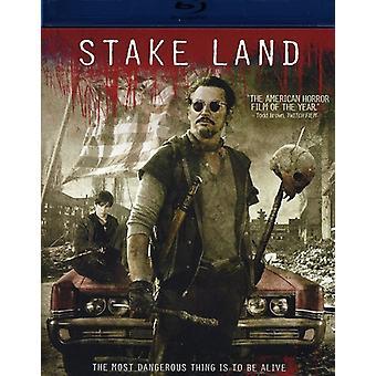 Stake Land [BLU-RAY] USA import