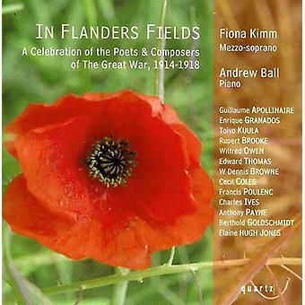 Fiona Kimm - In Flanders Fields [CD] USA import