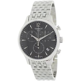 Tissot T063.617.11.057.00 Roestvrijstalen armband Chronograph Men's Horloge