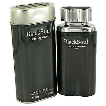 Black Soul by Ted Lapidus Eau De Toilette Spray 3.4 oz / 100 ml (Men)