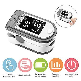 Pulse OLED Display Fingertip Blood Oxygen Pulse Rate Monitor Portable for Family