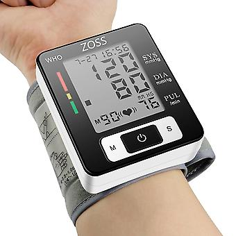 English Or Russian Voice Cuff Wrist Blood Presure Meter Monitor-heart Rate Pulse Portable Bp