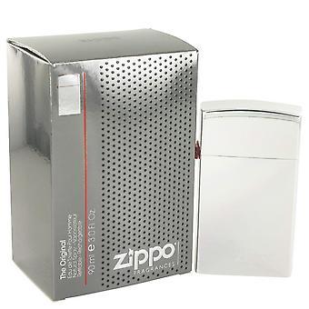 Zippo argent eau de toilette spray rechargeable par zippo 491518 90 ml
