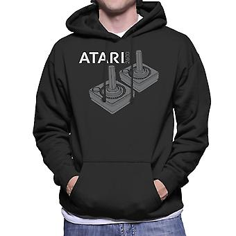 Atari 2600 Joysticks Men's Kapuzen-Sweatshirt