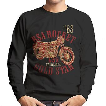 BSA Rocket 650 Clubmans Gold Star Men's Sweatshirt