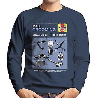 Haynes Male Grooming Tips And Tricks Men's Sweatshirt