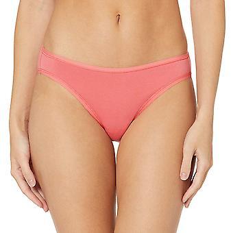 Essentials Women's Standard 6-Pack Cotton Bikini Underwear, Pretty Pops, S