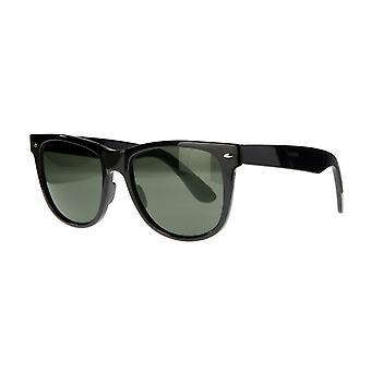 نظارات شمسية Unisex Cat.3 الأسود / الأخضر (AMU19211 A)