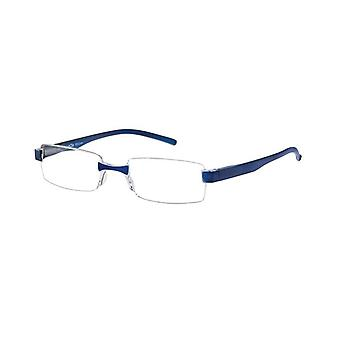 Reading Glasses Unisex Le-0184C Toulon Blue Strength +2.00