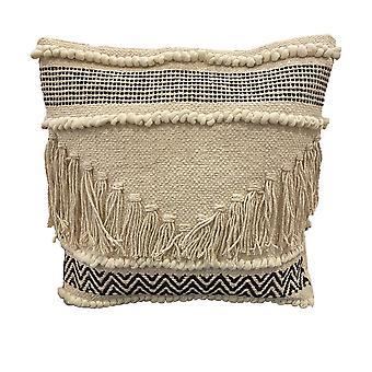 Spura hogar cómodo zigzag patrón diseño marroquí estilo almohada