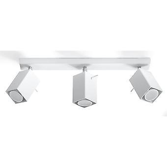3 Light Spotlight Bar White, GU10