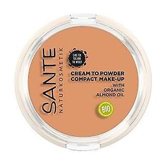Compacte poedercrème make-up 03 9 g