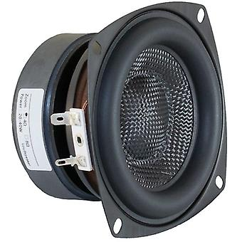 Subwoofer Speaker Unit Hifi Fiberglass Woven Basin Deep Bass Loudspeaker