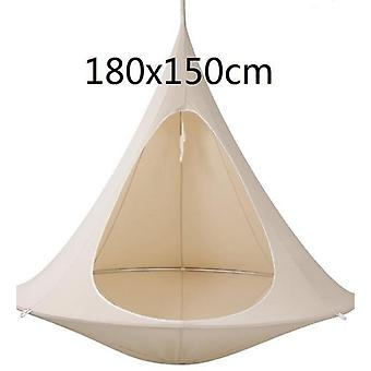 Ufo Shape Tree Hanging Silkworm Swing Chair For Kids & Adults Indoor Outdoor Tent