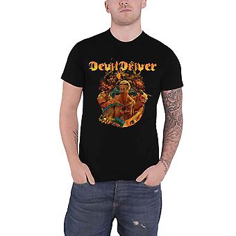 Devildriver T Shirt Keep Away From Me Band Logo new Official Mens Black