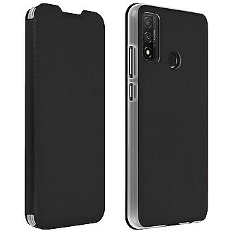 Case for Huawei P smart 2020 wallet and stand function - black