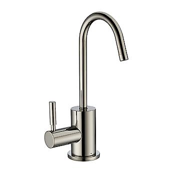 Point Of Use Instant Hot Drinking Water Faucet With Gooseneck Swivel Spout  - Polished Nickel
