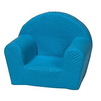 Luksus høj stol lille barn blå