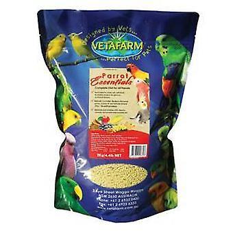 Papukaija Essentials 2kg Vetafarm