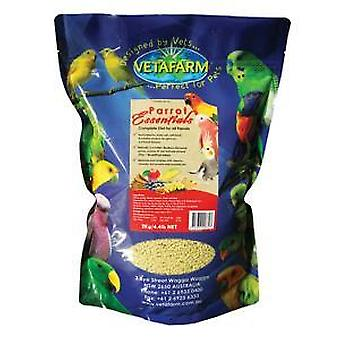 Papagaio Essentials 2kg Vetafarm