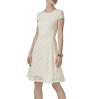 Alfani | Petite Lace Fit Flare Dress
