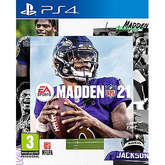 Madden NFL 21 PS4 Game