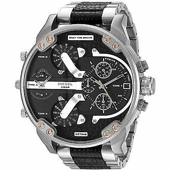 Diesel Big Daddy Chronograph Black Dial Men's Watch DZ7349