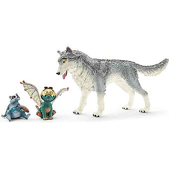 Schleich movie Lykos, Nugur & Piuh bayala collectable figure