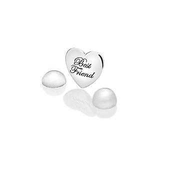 Anais diamantes calientes Anais plata mejor amigo encanto AC126