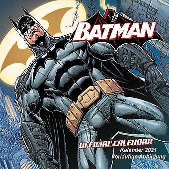 Batman Comics Kalender 2021 DC Collection by Jim Lee Offizieller Kalender 2021, 12 Monate, original englische Ausführung.