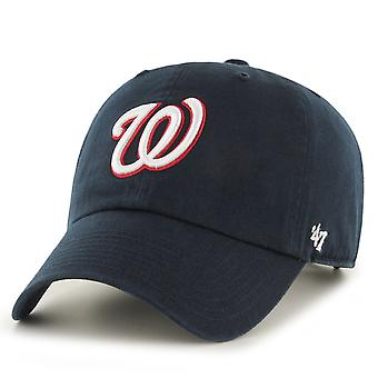 47 Brand Relaxed Fit Cap - CLEANUP Washington Nationals navy