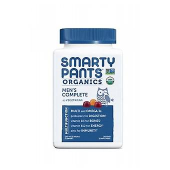 SmartyPants Organic Mens Compelte, 120 Count