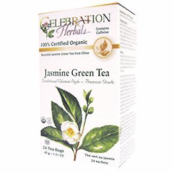 Celebration Herbals Jasmine Premium Green Tea, 24 Bags