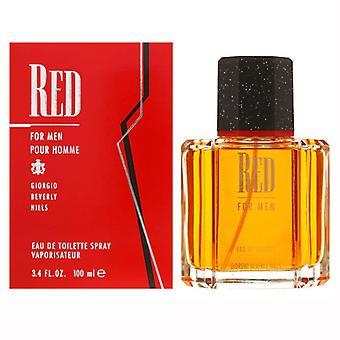 Giorgio Beverly Hills Red For Men Eau de Toilette Spray 100ml