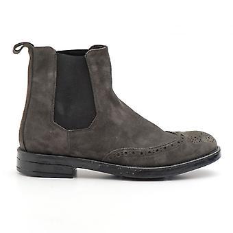 Beatles Eveet Grey Suede Ankle Boot