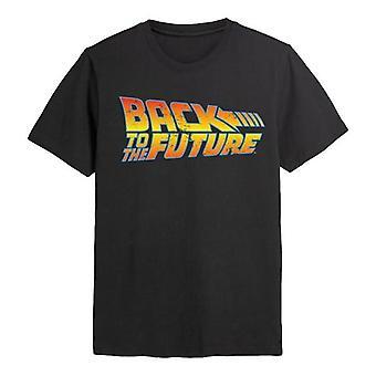 Takaisin tulevaisuuteen takaisin tulevaan logo t-paitaan