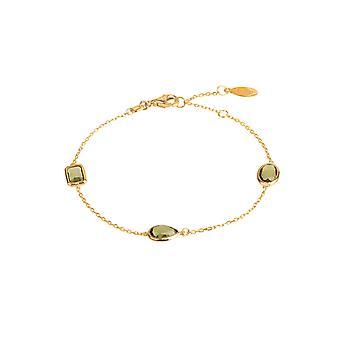 Bracelet Venise or péridot